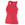 Augusta Ladies Solid Racerback Tank - Red - Small