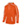 Augusta Stoked Tonal Heather Youth Hood - Orange/White - Youth Small