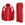 Defiance II Warm-up Suit - Red - Youth Small
